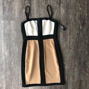 NWT NY&Co color block body con dress